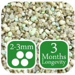 AutumnGreen Lawn Fertiliser 3 months longevity 2-3mm graded granule size