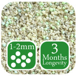 AutumnGreen Lawn Fertiliser 3 months longevity 1-2mm mini granule size