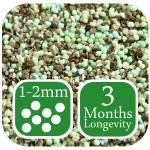 Drought Safe Lawn Fertiliser supplier summer lawn treatment 3 month controlled release 1-2mm mini granules