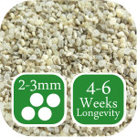 First and Last autumn winter lawn fertiliser 2-3mm graded granule size
