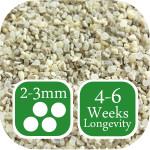 First and Last autumn winter lawn fertiliser 2-3mm graded granule size
